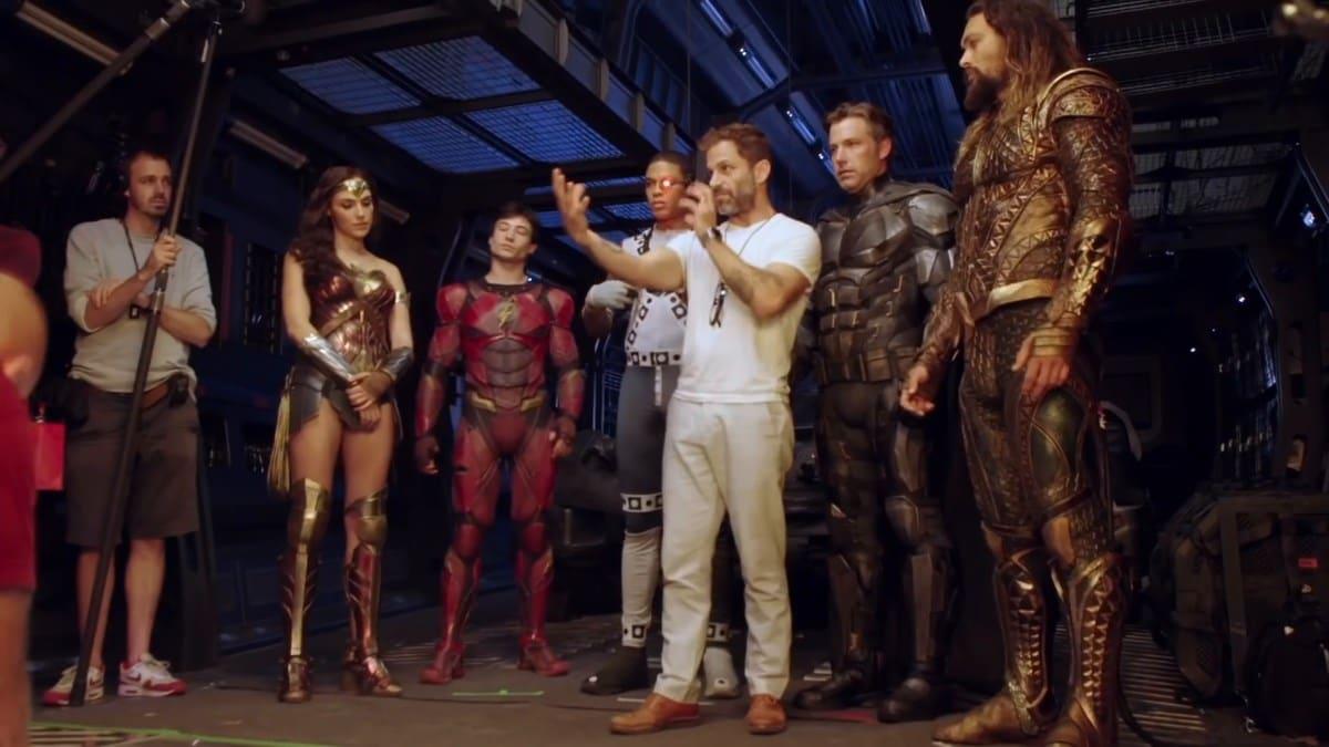 zack snyder justice league bts Zack Snyder Justice League