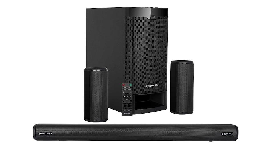Zebronics ZEB-Juke Bar 9400 Pro Dolby 5.1 Soundbar Launched in India