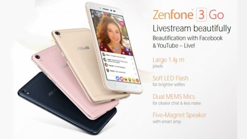 Asus ZenFone 3 Go Price, Specifications, Release Date Leaked