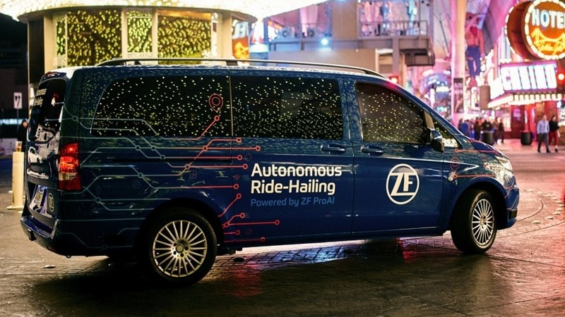 CES 2019: German Supplier Unveils New Self-Driving Car