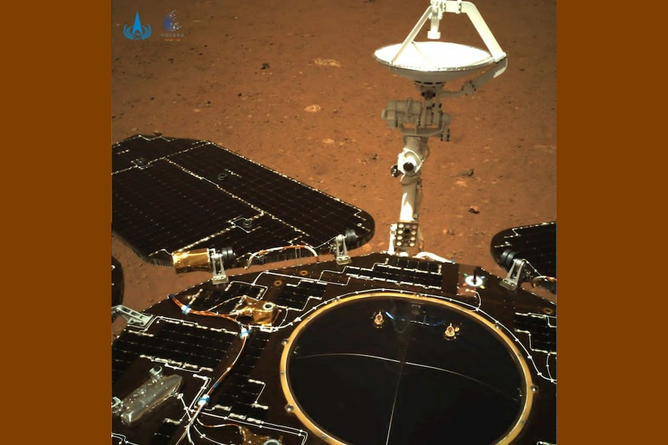 Zhurong: China Mars Rover Touches Ground on Red Planet