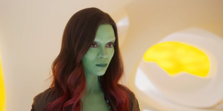 Guardians of the Galaxy Star Zoe Saldana 'Proud' of Disney for Rehiring James Gunn