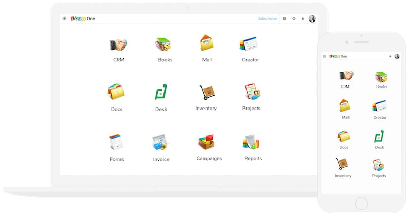 Zoho One Offers 38 Zoho Apps at Rs. 1,000 Per Employee Per Month