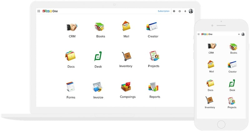 Zoho launches Zoho One operating system for businesses