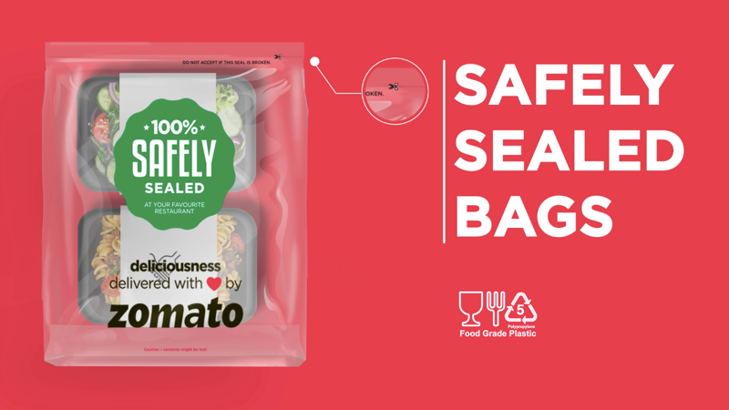 Zomato Introduces 'Tamper-Proof Packaging' In 10 Indian Cities to Prevent Food Tampering Cases