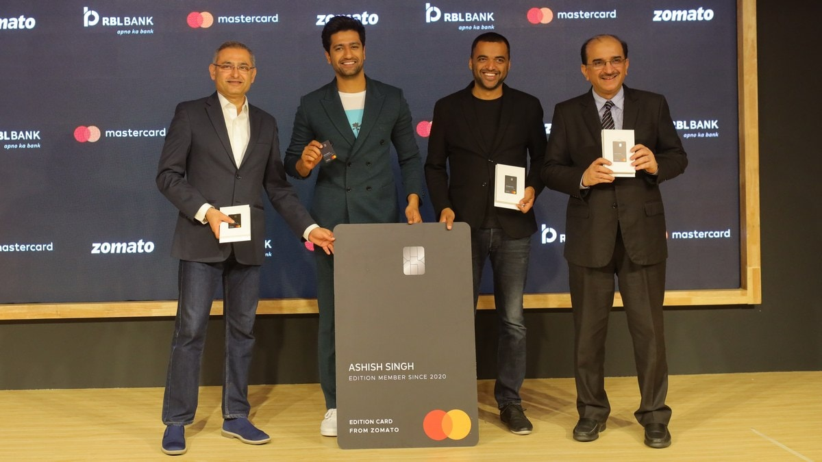 Zomato, RBL Bank, Mastercard Partner to Offer Co-Branded 'Edition Credit Cards'