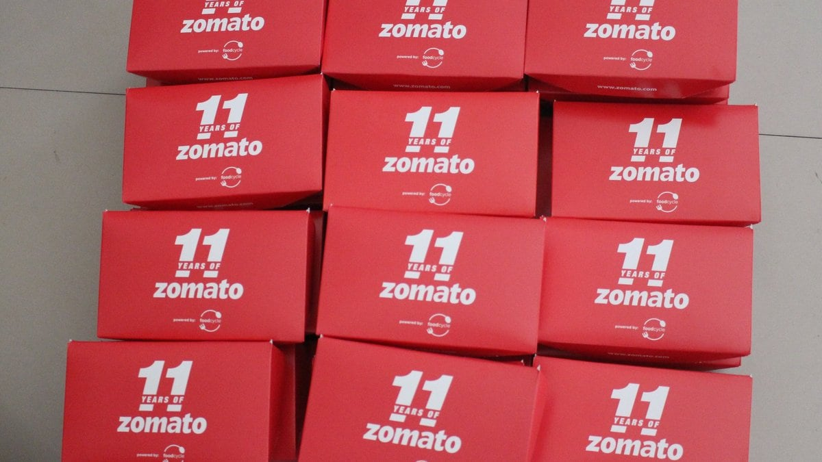 Zomato Determined to Add Gold Programme to Its Delivery Menu