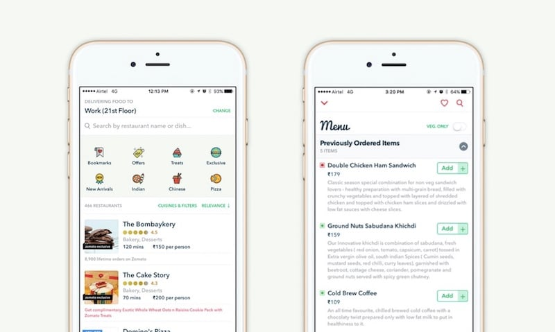 Zomato Just Made Ordering Food From Its Order App Much Easier