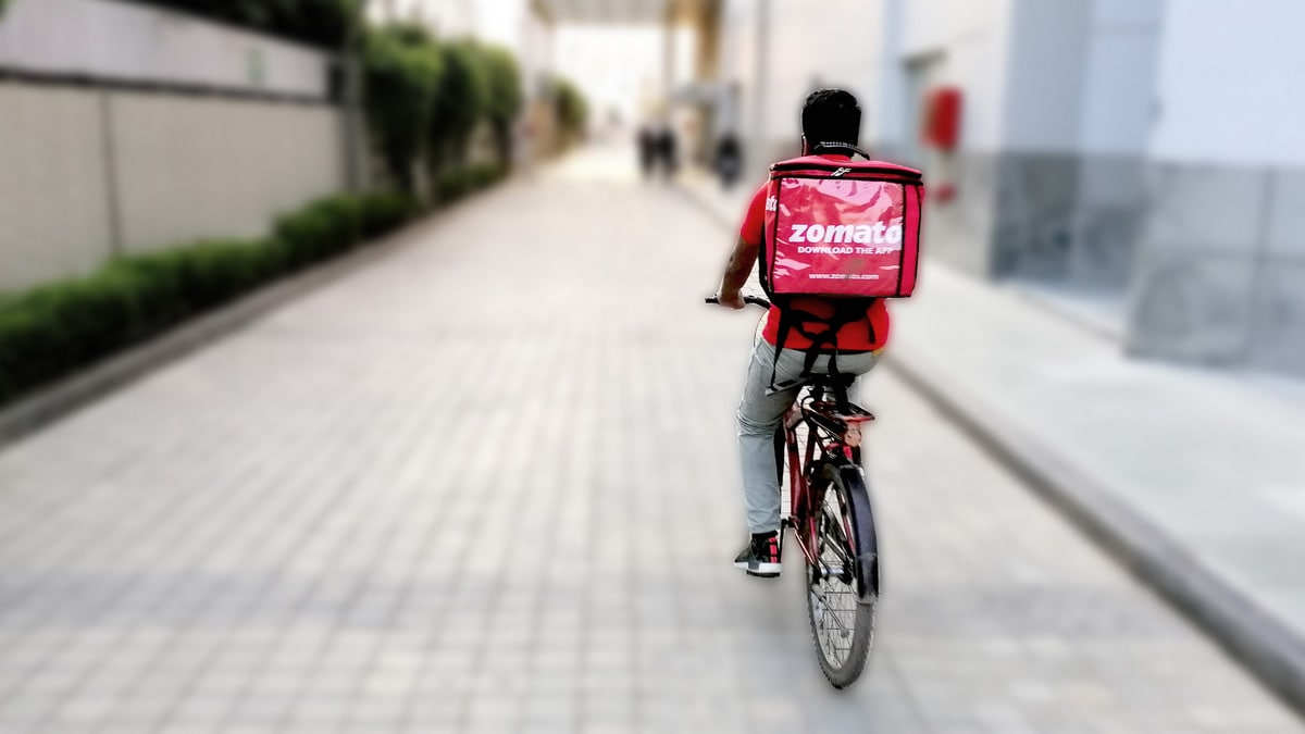 Zomato Delivery Executives Protest as Company Claims Efficiency