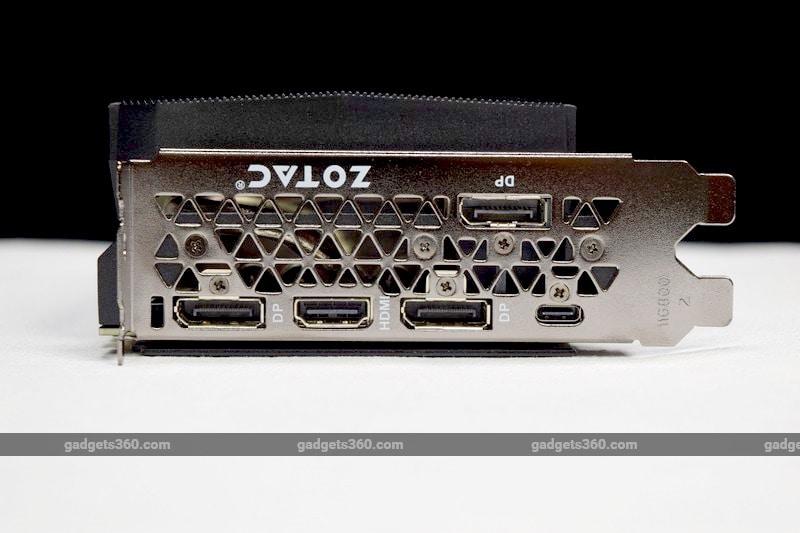 zotac geforce rtx2080 ports ndtv rtx2080