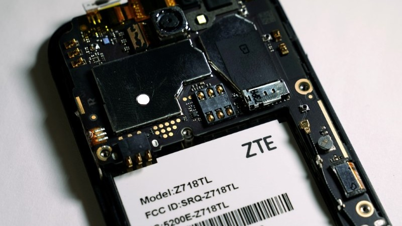 ZTE Says 7-Year US Ban Threatens Its 'Existence'