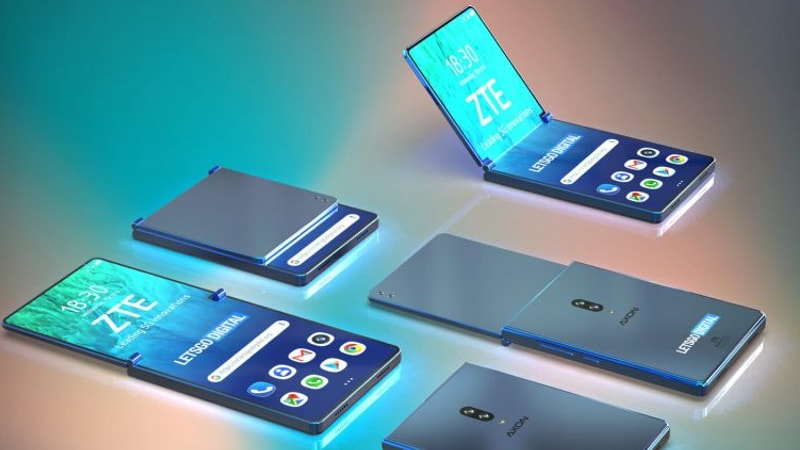 ZTE Could Be Working on a Foldable Smartphone With Clamshell-Style Design