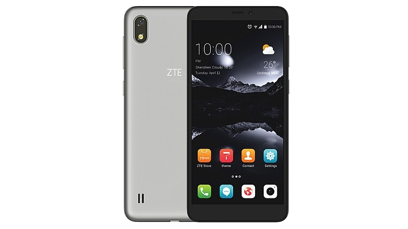 ZTE A530 With 18:9 Display, Android 8.0 Oreo Launched: Price, Specifications
