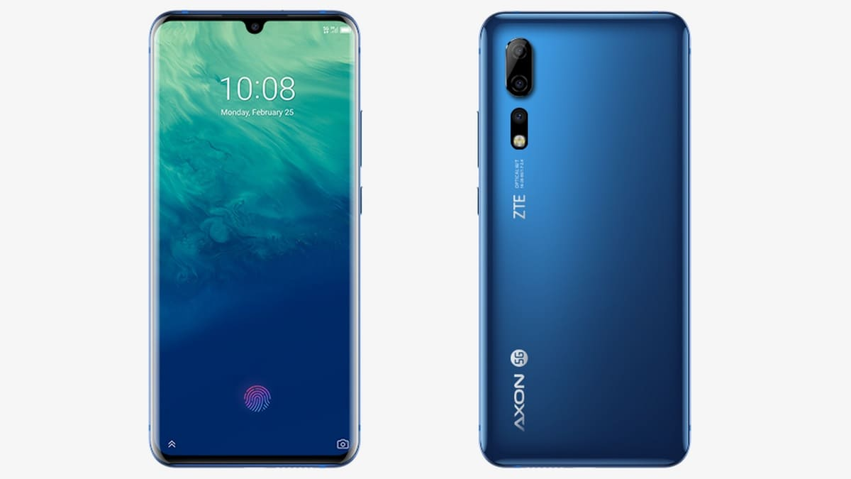 ZTE Axon 10 Pro, Axon 10 Pro 5G, and Blade A7 Launched; Price, Specifications