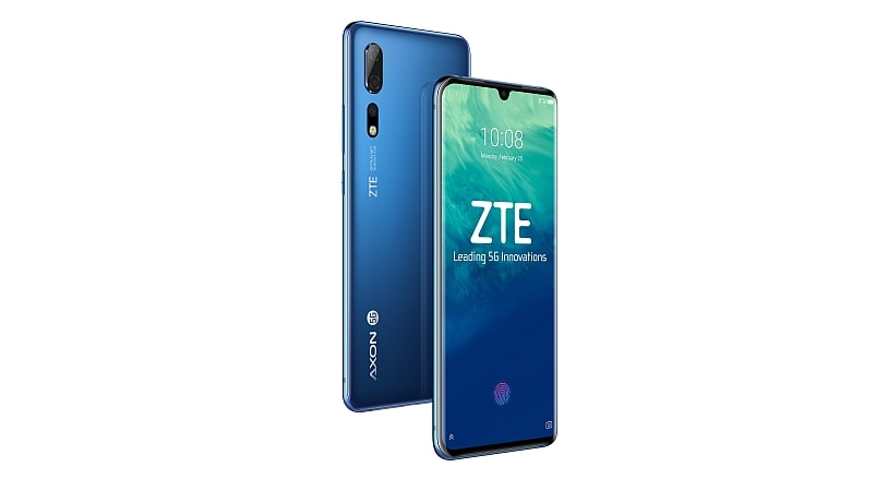 MWC 2019: ZTE Axon 10 Pro 5G With Snapdragon 855 SoC, ZTE Blade V10 Launched