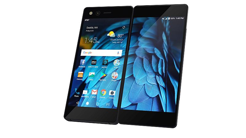 ZTE Axon M Foldable Smartphone With Dual Full-HD Displays Launched: Price, Specifications