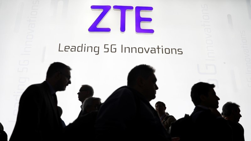 Trump says U.S.  will help penalized Chinese company, ZTE Corp