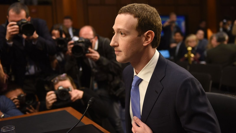Facebook founder's data 'was included in breach'