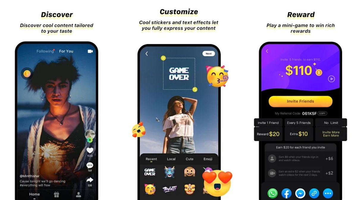 TikTok Lookalike Zynn Brings Chinese Video App Rivalry to US