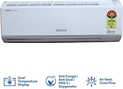 Voltas 1.2 Ton 5 Star Inverter Split AC (155V DZW (R32))