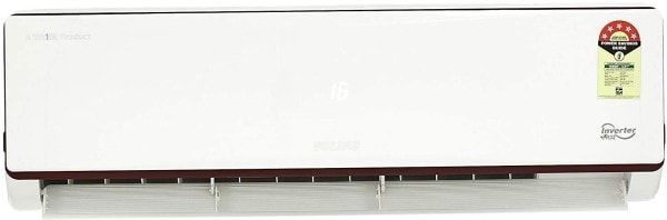 Voltas 1.5 Ton 5 Star Inverter Split AC (Copper Condenser, 185V JZJT, White)