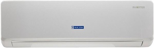 Blue Star 1.5 Ton 3 Star Inverter Split AC (Copper Condensor, 3CNHW18NAFU, White)