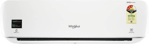 Whirlpool 1.5 Ton 3 Star Inverter Split AC (Copper Condensor, 3D COOL PURAFRESH, White)