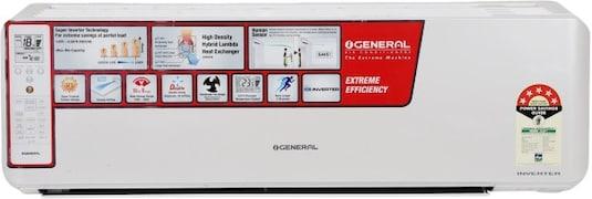 O General 1.5 Ton 5 Star Inverter Split AC (Copper Condenser, ASGG18CGTA, White)
