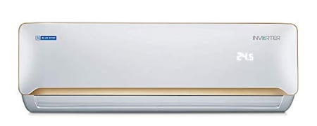Blue Star 1.5 Ton 3 Star Inverter Split AC (Copper Condenser, IC318QATU, White & Champagne Gold)