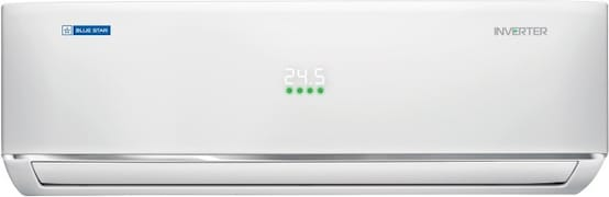 Blue Star 1.5 Ton 5 Star Inverter Split AC (Copper Condenser, IC518DATUAP, White)