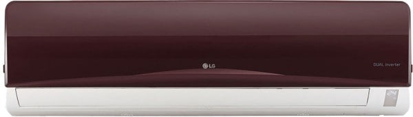 LG 1.5 Ton 3 Star Inverter Split AC (Copper Condensor, JS-Q18RUXA, Maroon)