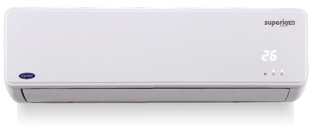 Carrier 1.5 Ton 4 Star Inverter Split AC (SUPERIA 4I, White)