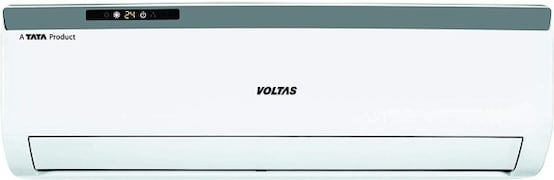 Voltas 1.5 Ton 3 Star Split AC (Copper Condenser, 183 EZA, White)