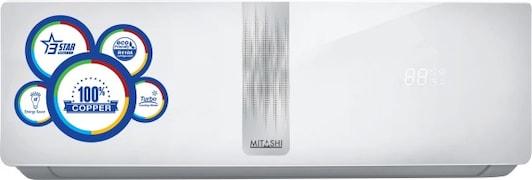 Mitashi 1.5 Ton 3 Star Split AC (Copper Condensor, MISAC153V25, White)