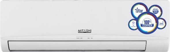 Mitashi 1.5 Ton 3 Star Split AC (Copper Condensor, SAC3S18K100, White)