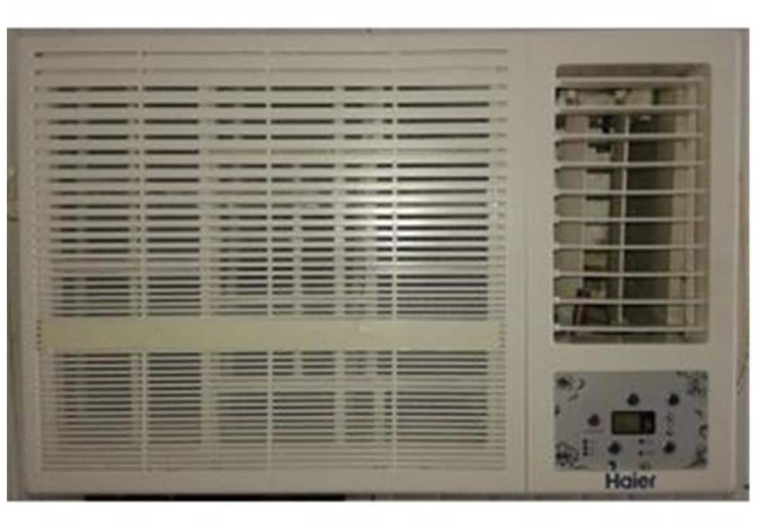 Haier 1.5 Ton 3 Star Window AC (Copper Condensor, HW-18CV3CNA, White)