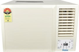 Haier 1.5 Ton 5 Star Window AC (Copper Condenser, HWU-18CV5CNB1, White)