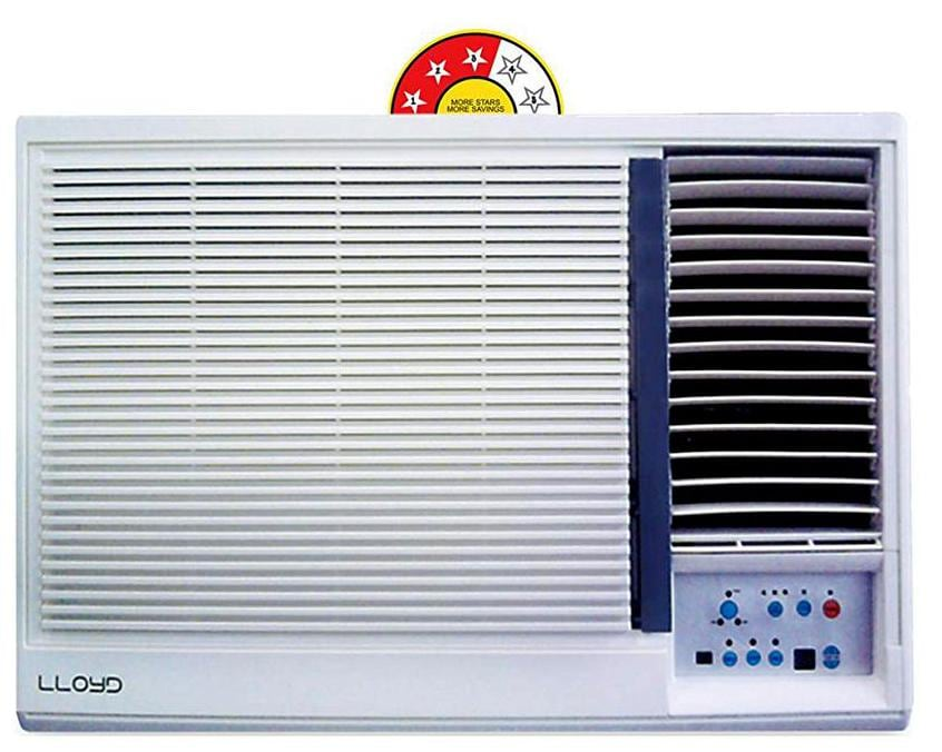 Lloyd 1.5 Ton 3 Star Window AC (Copper Condensor, LW19A30PP, White)