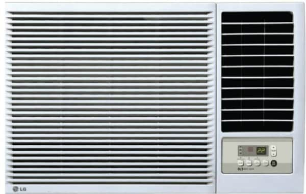 LG 1.5 Ton 3 Star Window AC (Copper Condensor, LWA18CPXA, White)