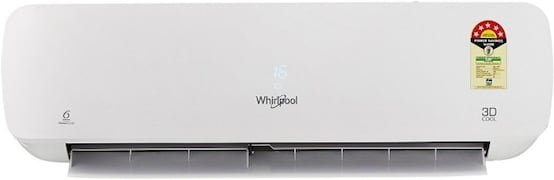 Whirlpool 1 Ton 5 Star Split AC (Copper Condensor, 3D COOL, Silver)
