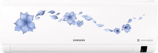 Samsung 1 Ton 5 Star Inverter Split AC (Aluminium Condensor, AR12NV5HLTR, White)