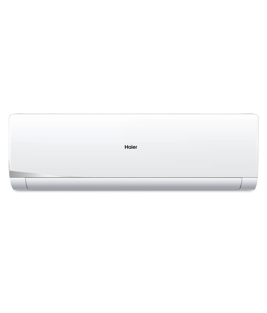 Haier 1 Ton 3 Star Inverter Split AC (Copper Condensor, HSU-13NSS3, White)