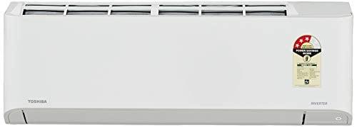 Toshiba 1 Ton 3 Star Inverter Split AC (Copper Condensor, RAS13BKCVIN, White)