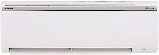 Daikin 1 Ton 4 Star Inverter Split AC (Copper Condensor, RKP35TV16W, White)