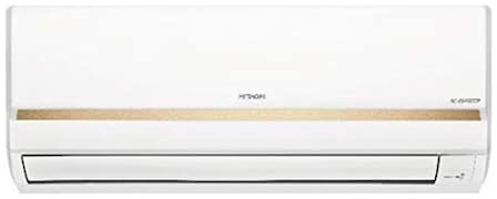 Hitachi 1 Ton 3 Star Inverter Split AC (RSFG312HCEA, Gold & White)