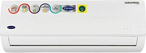 Carrier 1 Ton 3 Star Split AC (12K DURAFRESH NEO, White)