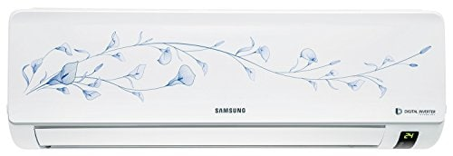 Samsung 1 Ton 3 Star Split AC (Aluminium Condensor, AR12KC3HATP, Grey)