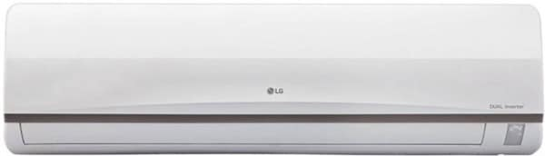 LG 1 Ton 3 Star Split AC (Copper Condensor, JS-Q12SUXD1, White)