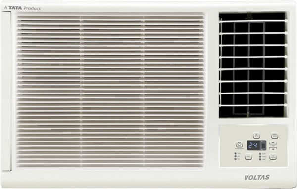 Voltas 1 Ton 3 Star Window AC (Copper Condensor, 123 LZF, White)