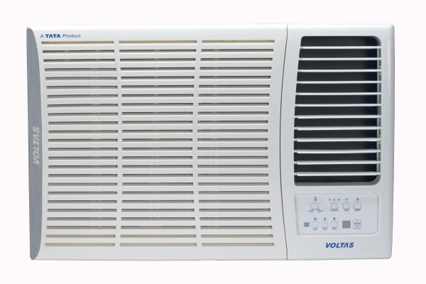 Voltas 1 Ton 5 Star Window AC (Copper Condensor, 125 DZA, White)